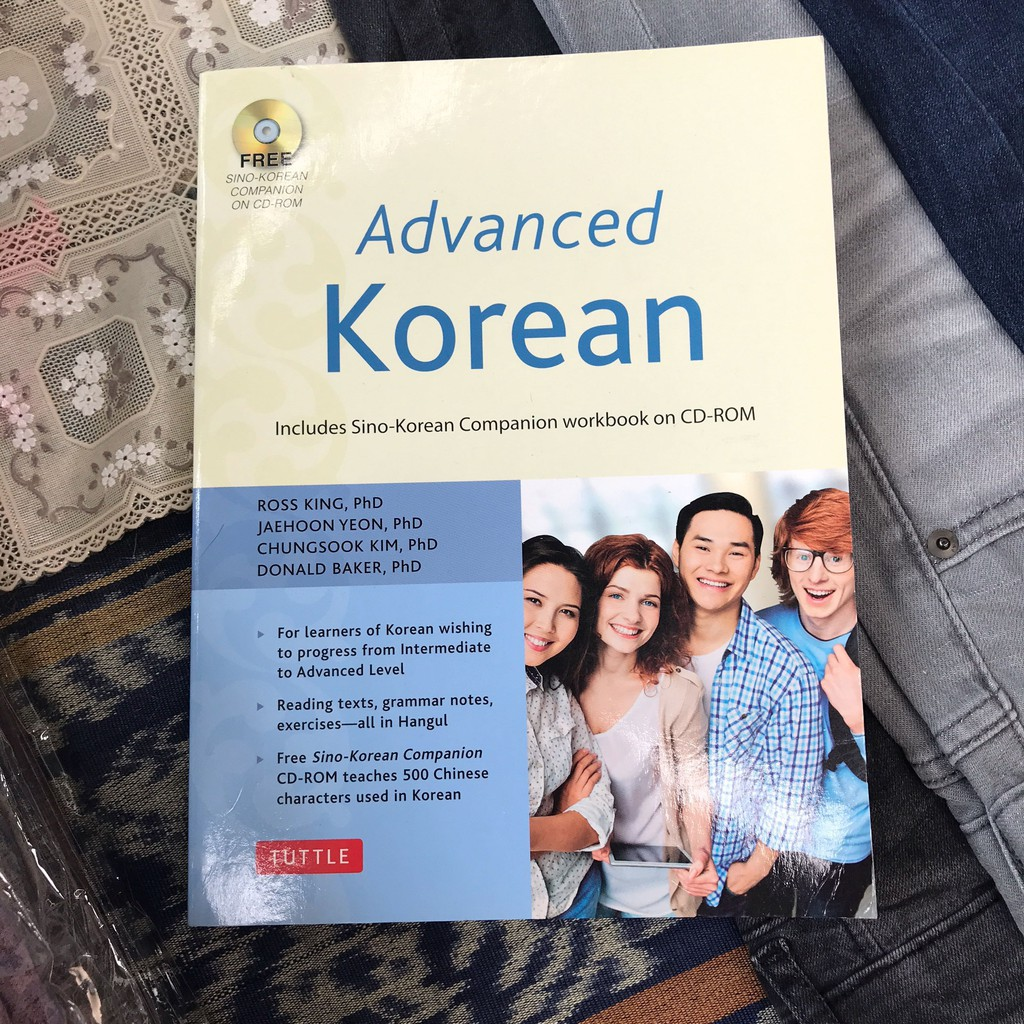 Advanced Korean with cd