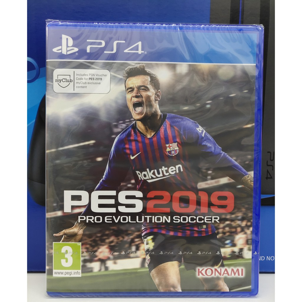 dc7b27d340ed0 Sony PS4 Game PES 2019 Pro Evolution Soccer Winning Eleven Playstation 4