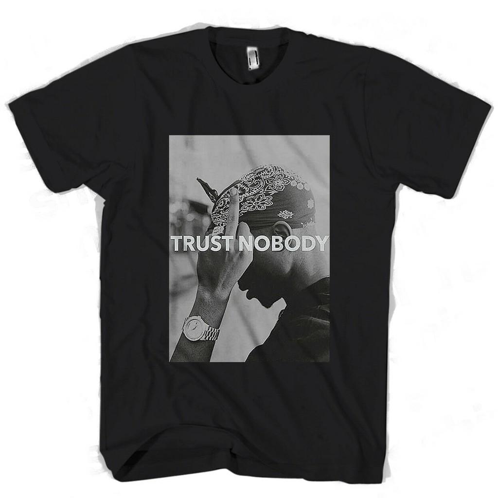 """Tupac /""""trust nobody /'t-shirt-nouveau /& officiel!"""