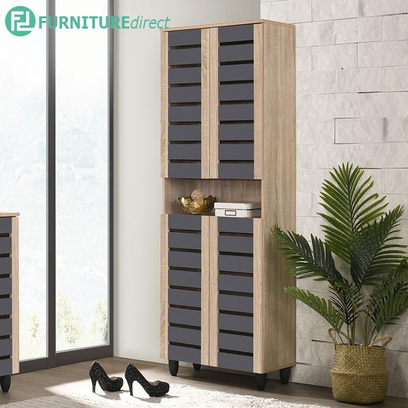 Furniture Direct TANGO 4 door shoe cabinet/ shoe cabinet/ air ventilation shoe cabinet/ rak kasut/ kabinet kasut/ 鞋厨/ ca