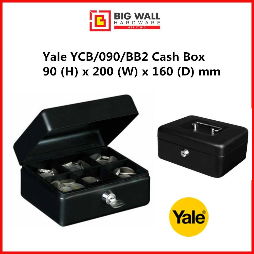 Yale YCB/090/BB2 Cash Box - Medium *Peti Wang Tunai 钱箱