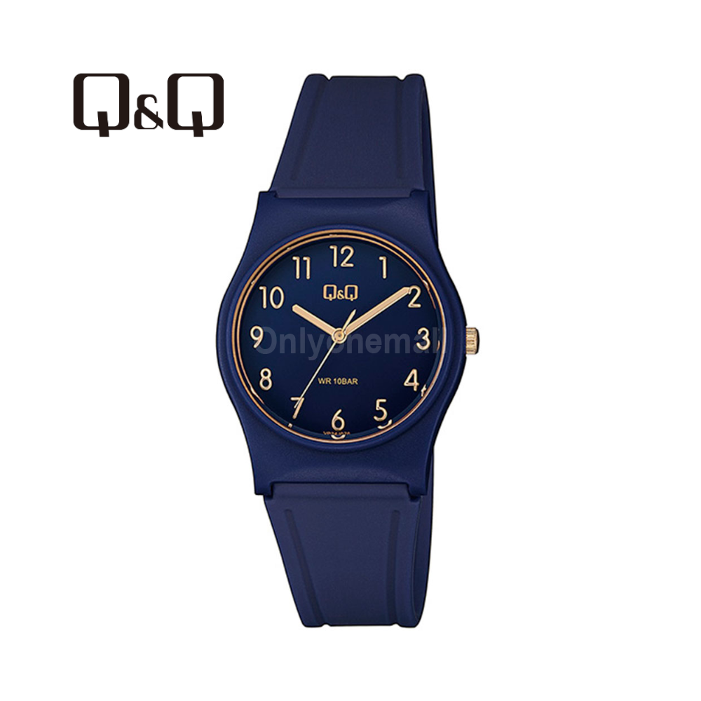 Q&Q VP34J078Y Ladies 33mm Casual Analogue Watch 100m Water Resistance