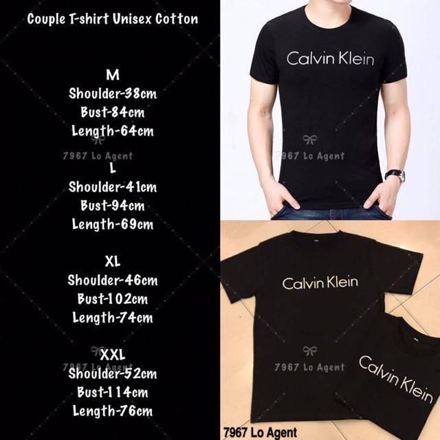 T Ck Shirt Cotton Unisex Couple T1KJlFc