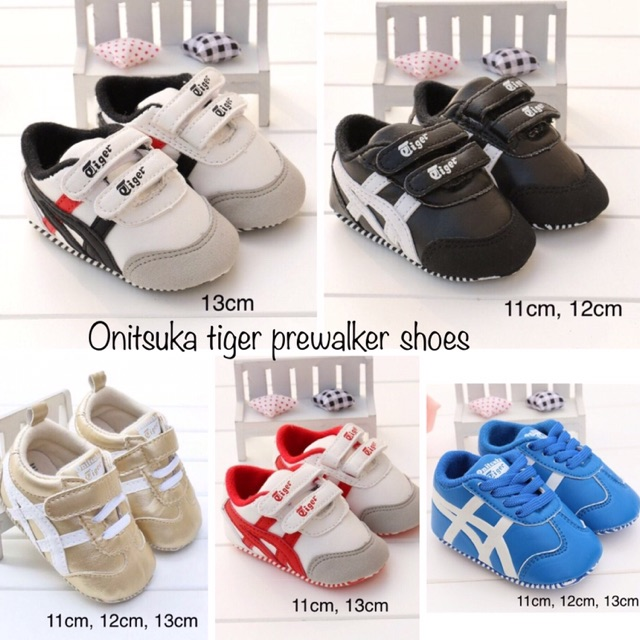 the latest 4aded cf8d7 Onitsuka tiger prewalker shoes
