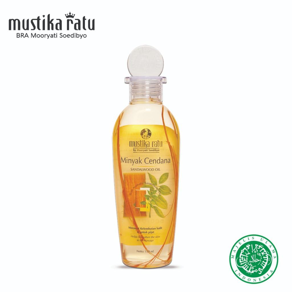 Mustika Ratu Minyak Cendana For Healthy And Smooth Skin (175ml)