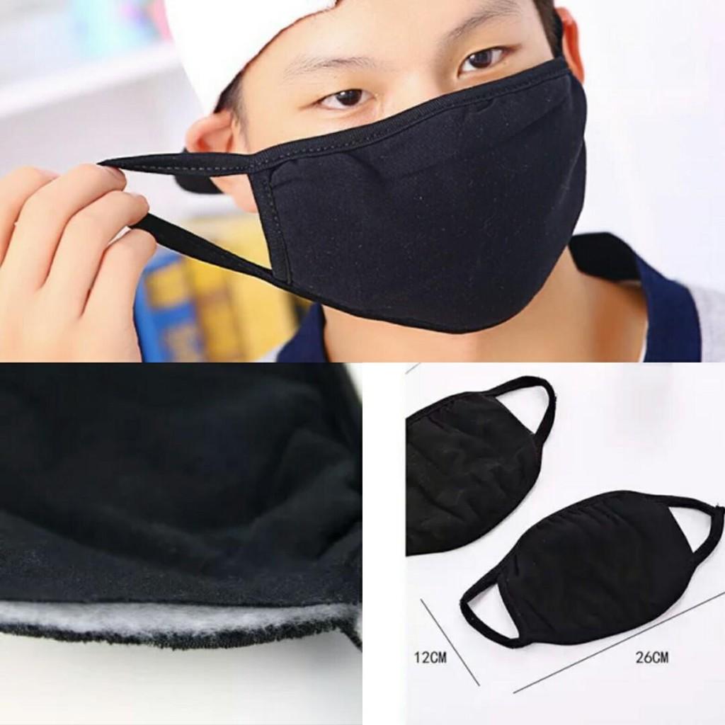 READY STOCK SHP] PENUTUP MUKA COTTON BOLEH BASUH/ Reusable Masks Male Female Unisex Face Masks