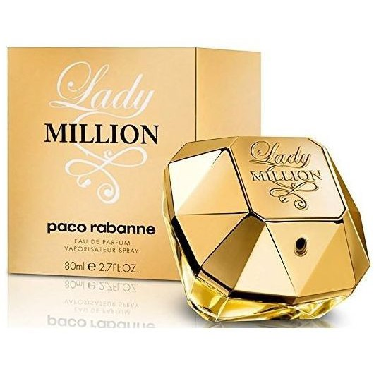Paco Rabanne Lady Million - Eau De Parfum - Spray 80 ml