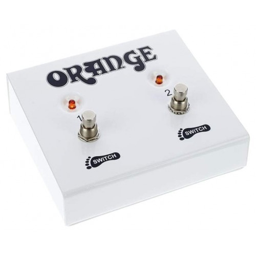 1-Button Guitar Amp On//Off Footswitch with 1//4-Inch Jack for Orange Amps FS-1