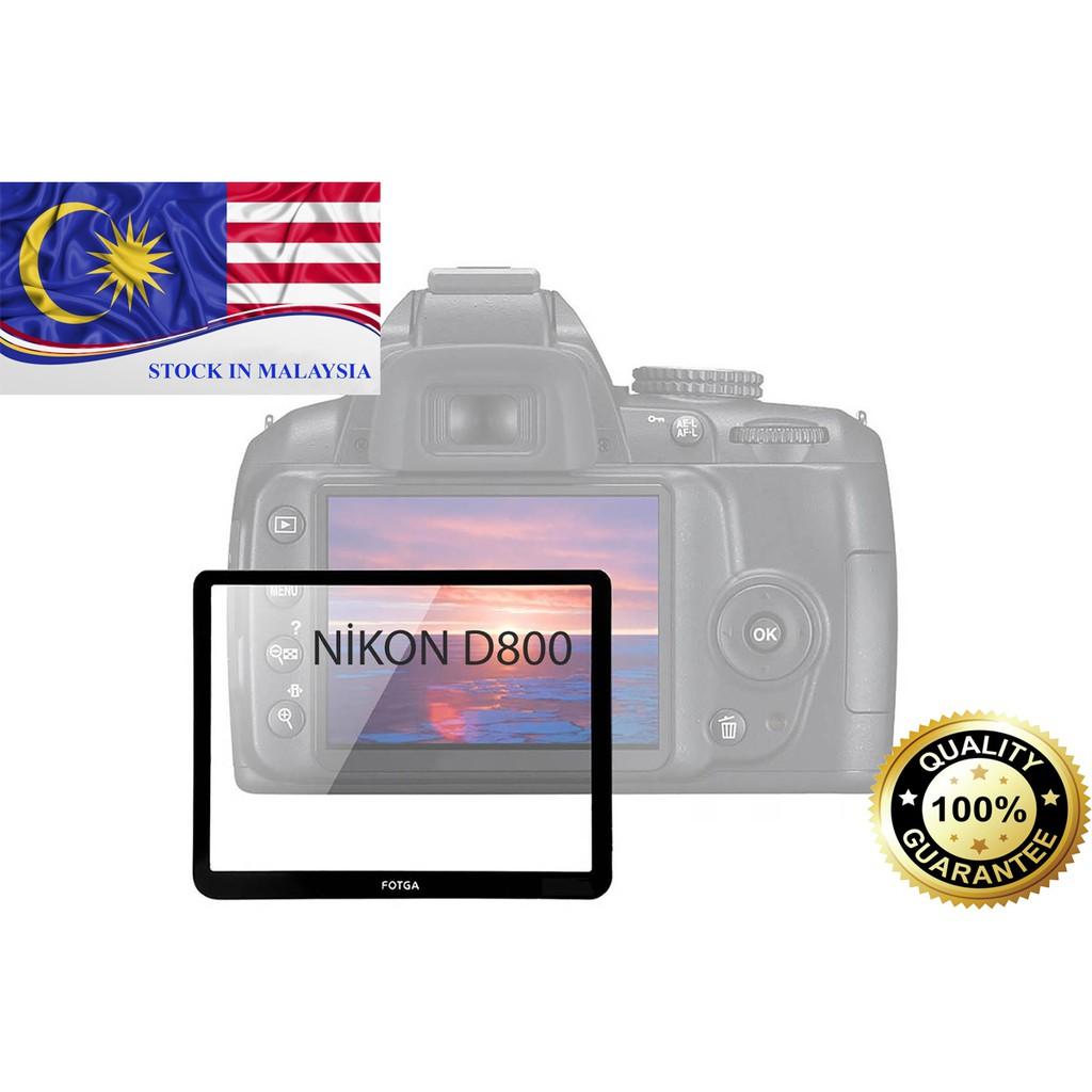 Fotga 0.5mm Premium LCD Screen Panel Protector Glass For Nikon D800(Ready Stock In Malaysia)
