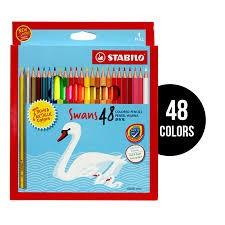 Stabilo Swans Metalic/Neon 48 Colour Pencil