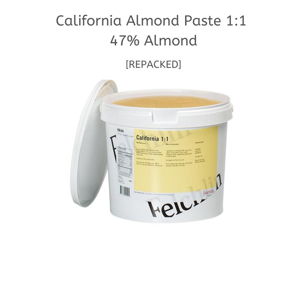 FELCHLIN, Ready To Use Almond Paste 1:1, Halal, 500 g