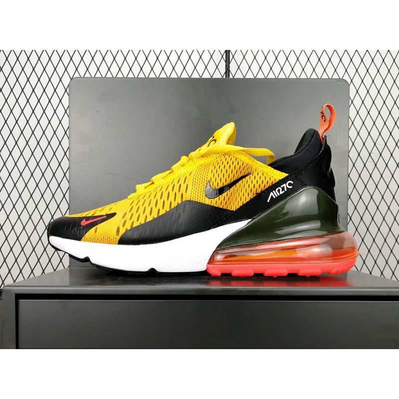 brand new 6bf16 5d7b8 Nike Air Max 270 Tiger Black Orange Blaze-Varsity Red