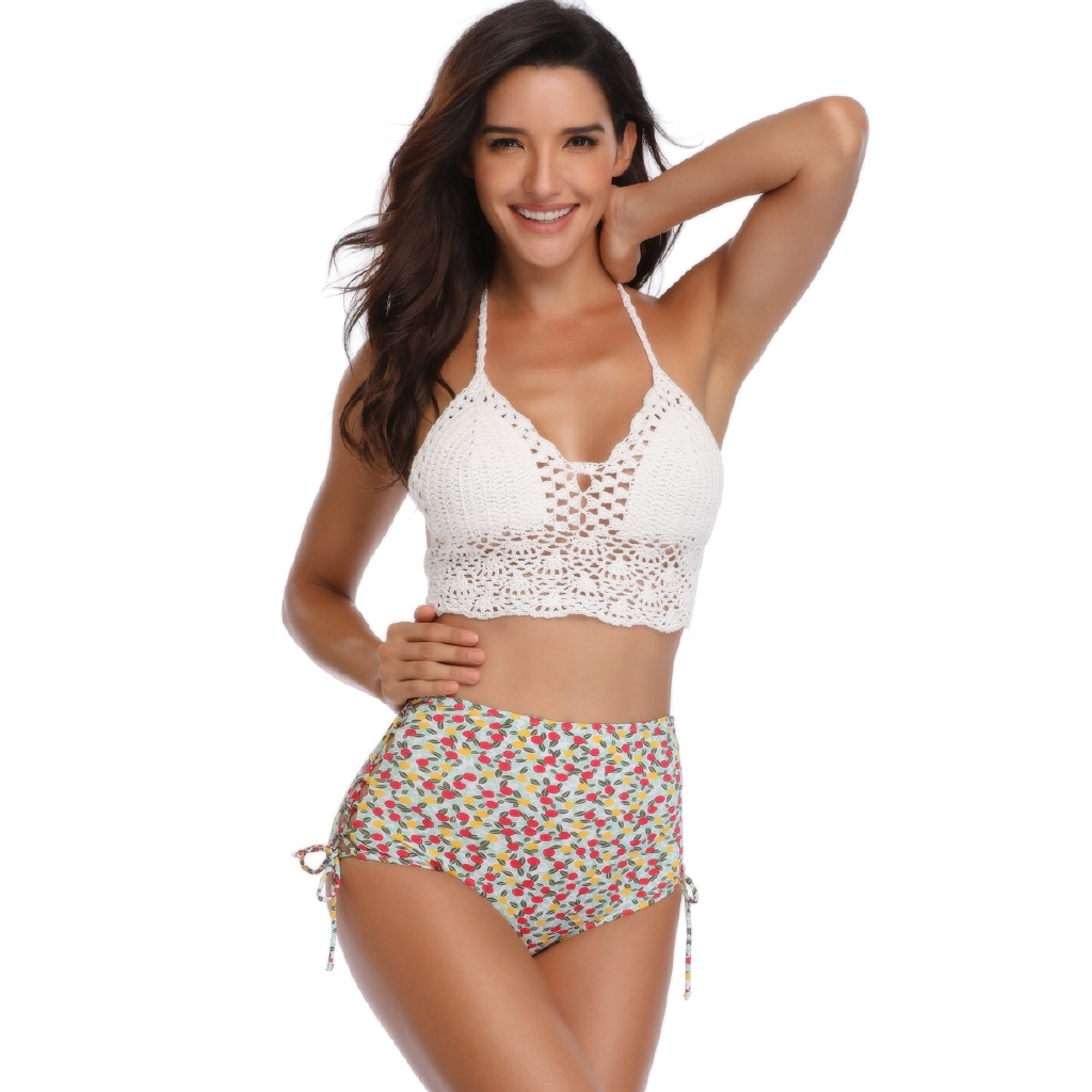 384506f246f European and American Summer Sexy Hollow Female Swimsuit Bikini | Shopee  Malaysia