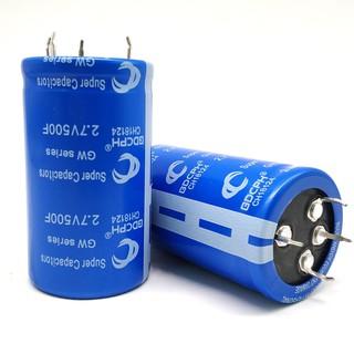 GDCPH 1PCS Farad Capacitor 2 7V 500F 35*60MM Super Capacitor