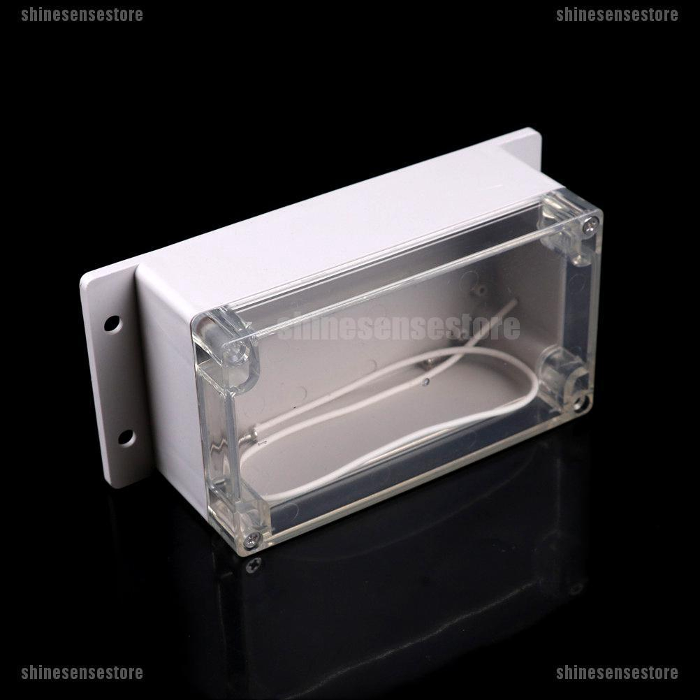 Waterproof 158x90x65mm Plastic Electronic Project Box Enclosure Cover CASE