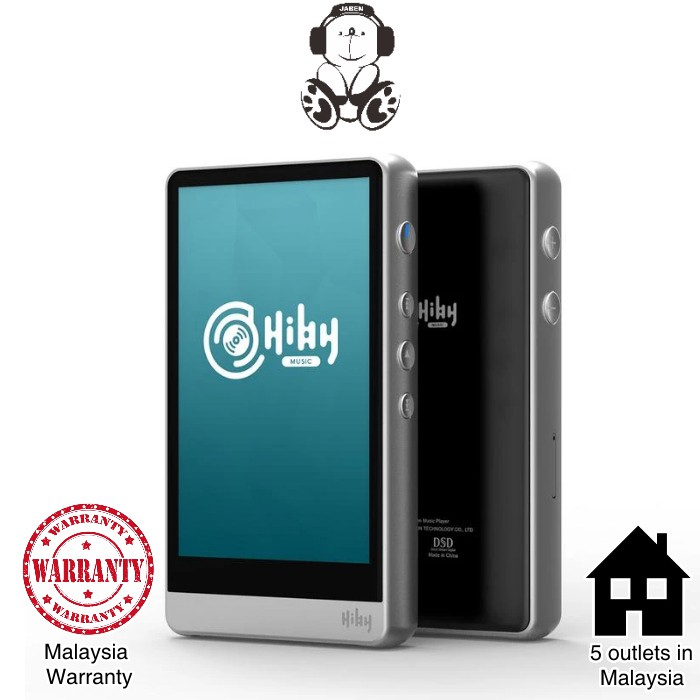 HiBy R6 Stainless Steel Android DAC-Mode Streaming DSD with 2.5mm Balanced Output MP3 Player DAP