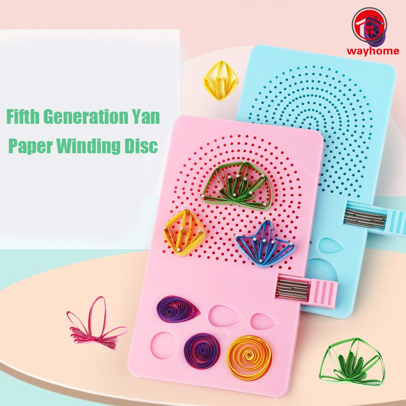Standard Groove + Slotted Steel Needle,not Easy Slip Paper Quilling Board with Pins Grid Guide for Paper Crafting Winder Roll Square DIY Craft Tool /…