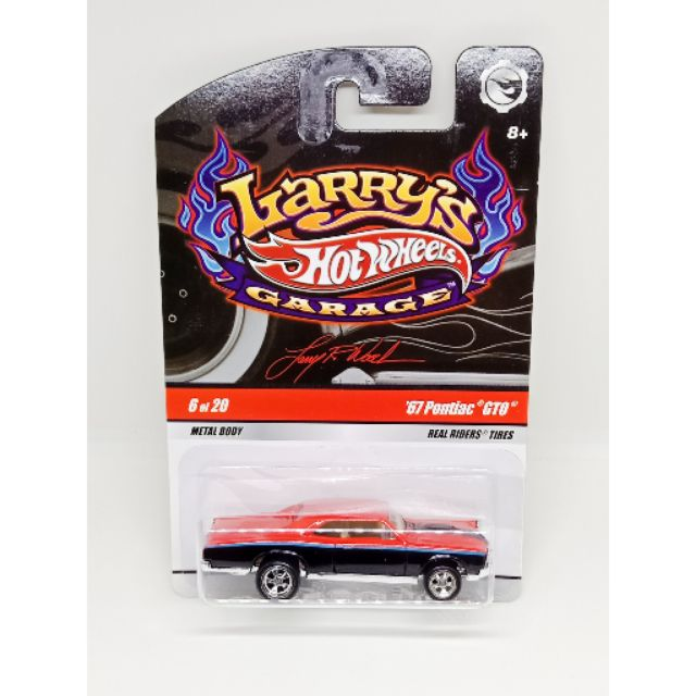 HOT WHEELS 2009 LARRY'S GARAGE '67 PONTIAC GTO