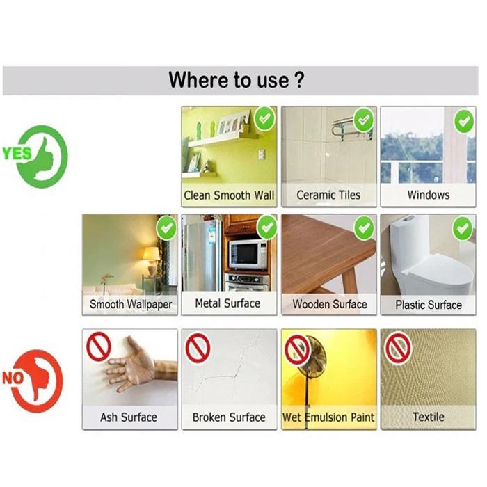 MALAYSIA: 60cm*1 Meter PELEKAT HIASAN DINDING Wallpaper Stickers Home Decor Living Room Bedroom