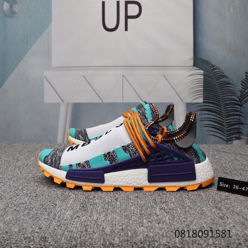wholesale dealer 49fb1 a7b78 New arrival Adidas PW HU HOLI NMD MC high quality running shoes size 36-47