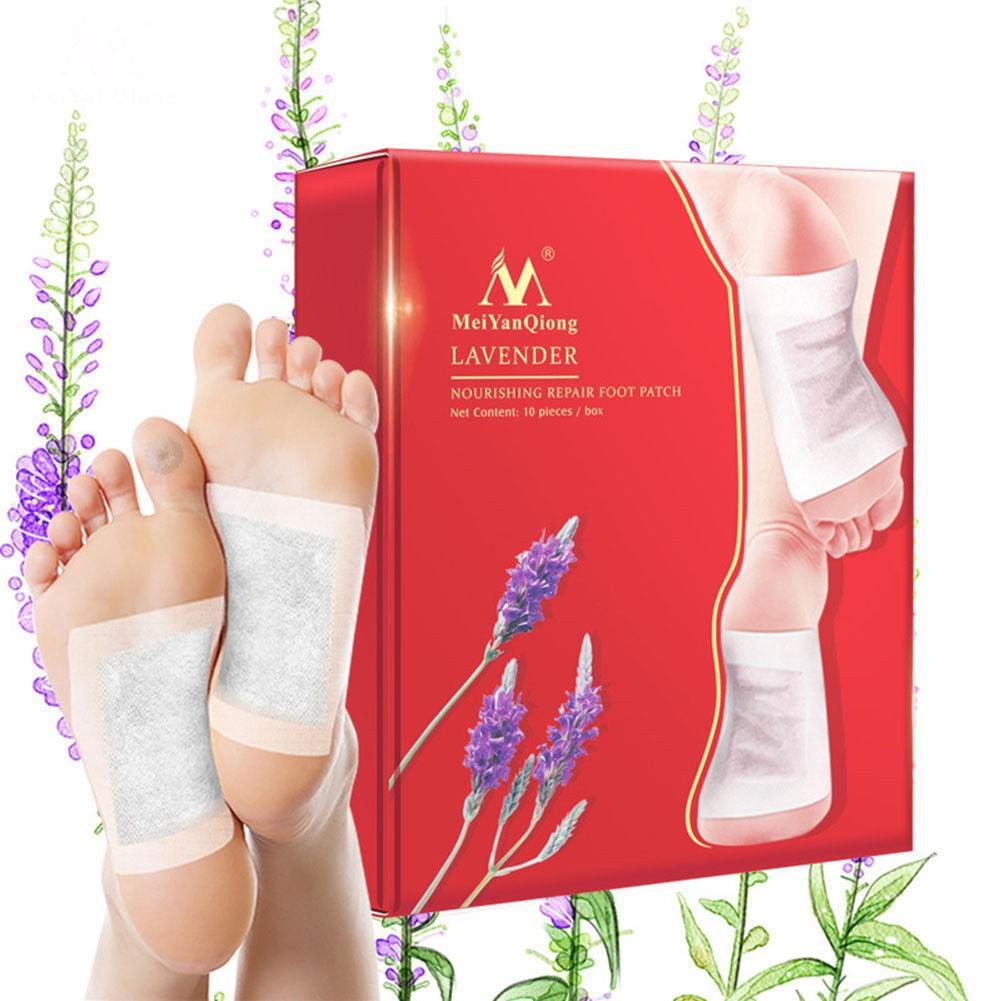 Lavender Detox Foot Pads Nourishing Feet Repair Patch 100% Natural Ingredients | Shopee Malaysia