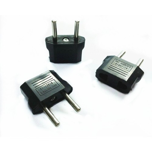 US-EU Power Socket Adapter - 5pcs