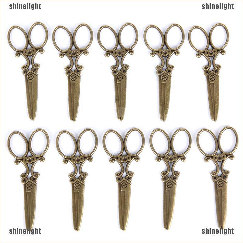 Scissor,Charm Silver Alloy Pendants,Jewelry Finding Making Diy Accessories,4pcs