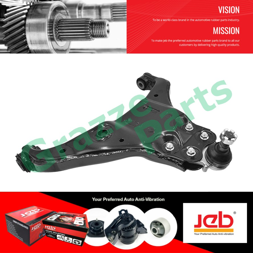 JEB RH Front Lower Control Arm 8-98005832-0 for Isuzu D-Max (4X2) 2008