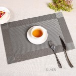 GDeal European Style PVC Waterproof Premium Kitchen Dining Table Heat Resistant Placemats