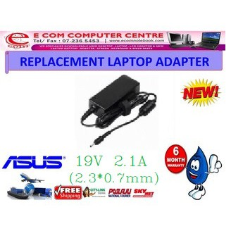 Laptop Power Adapter Charger for ASUS EEE PC CX101H 1005H 1001PXD