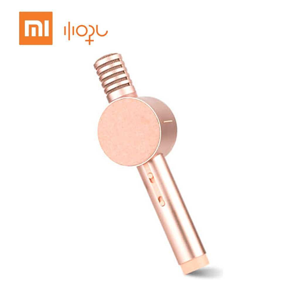 Xiao-mi Xiao-hou Moving-Coil Audio Microphone Acoustic Design Multi-Scenario Use Microphone Speaker Integration (Pink)