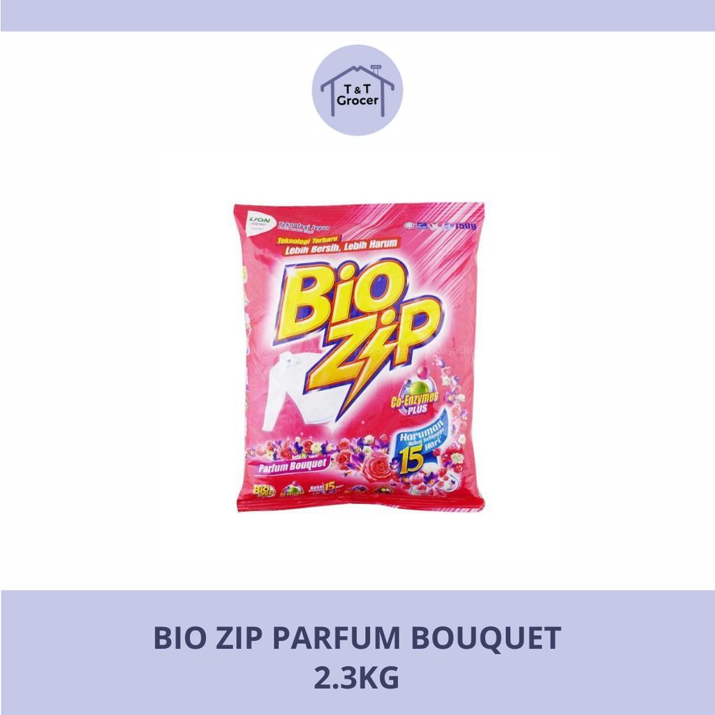 Bio Zip Sabun Baju (Aloe Vera/ Colour/ Oren/ Parfum Bouquet) 2.3kg