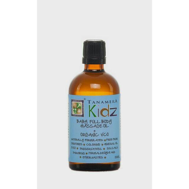Tanamera baby full body massage oil organic vco 100ml minyak urut bayi badan | Shopee Malaysia