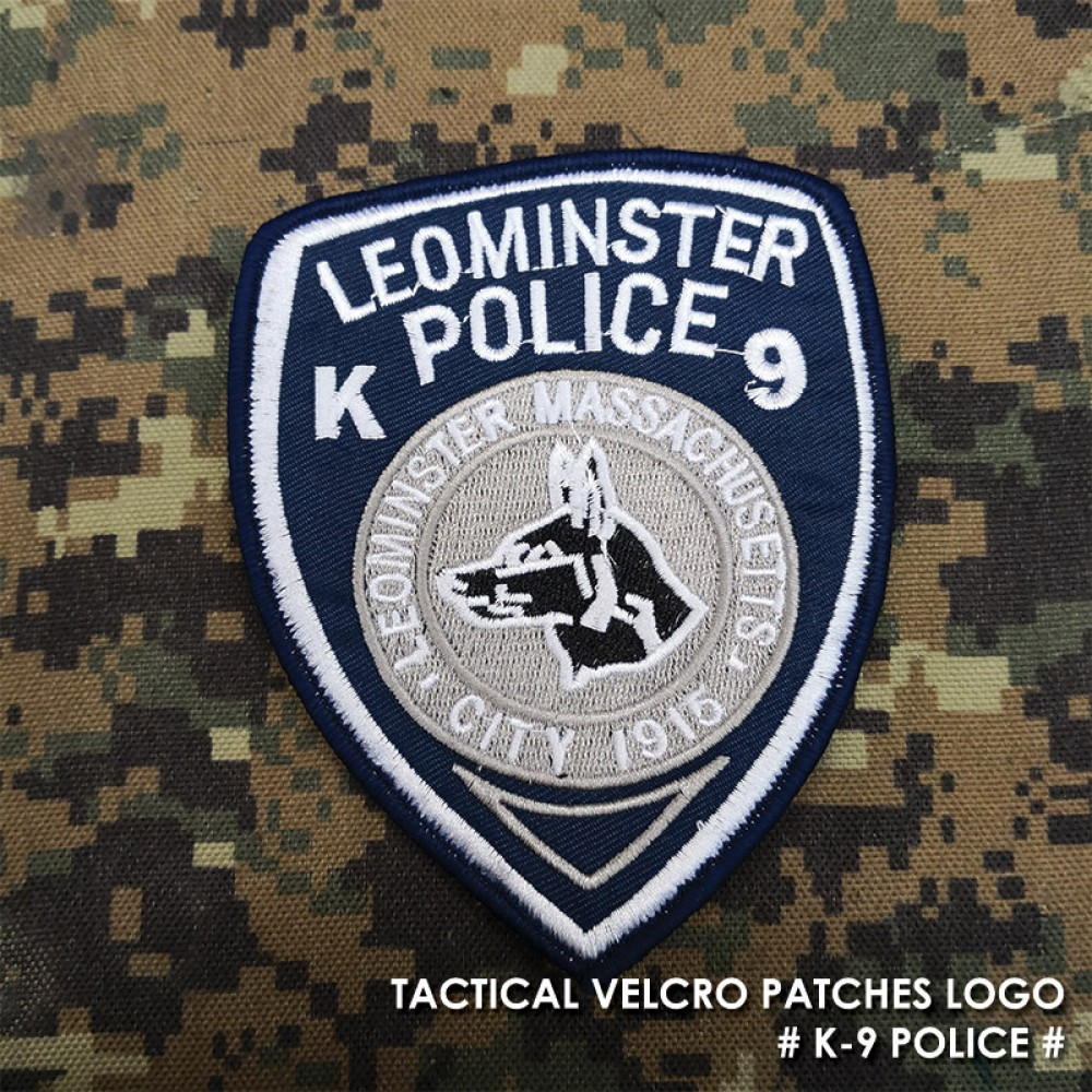 TACTICAL VELCRO PATCHES LOGO K-9