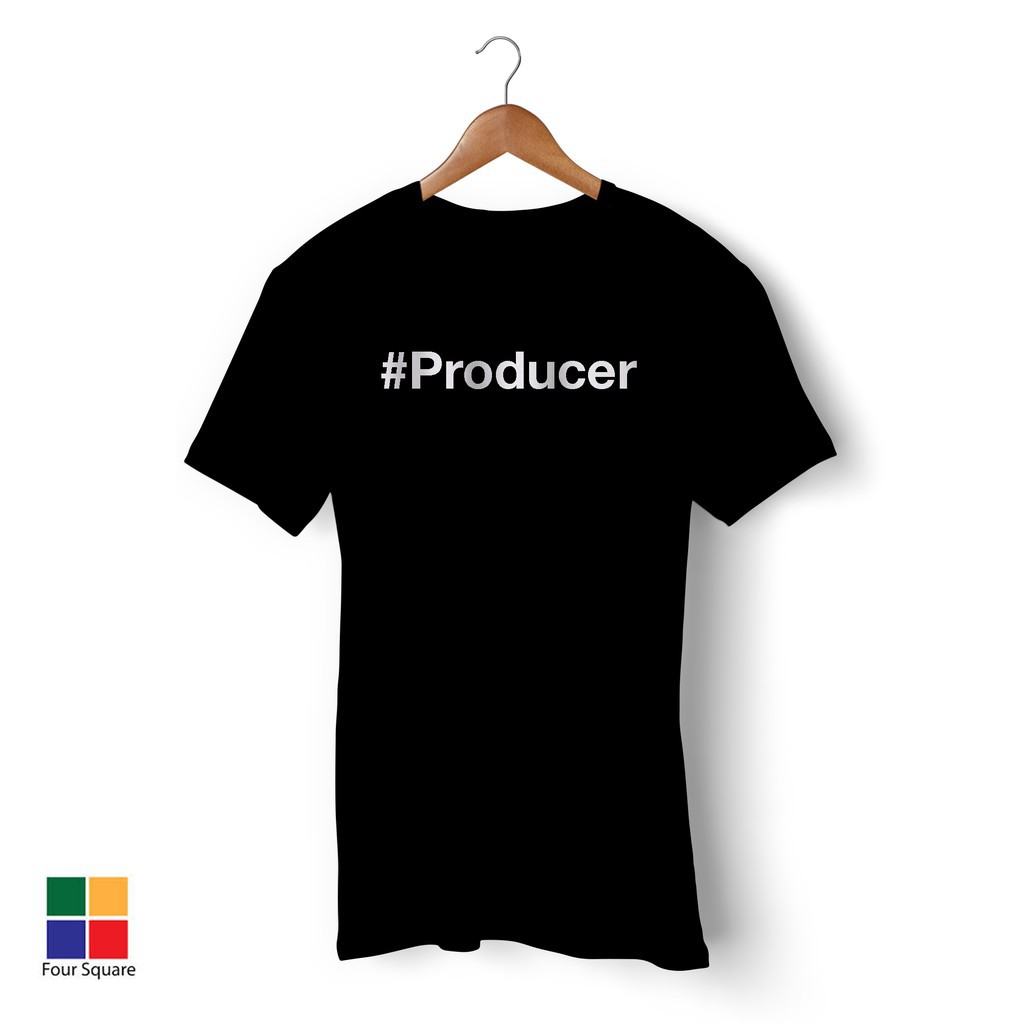 3cc1cf1a Production Crew Tshirt - Crew - White Vinyl Heat Press   Shopee Malaysia