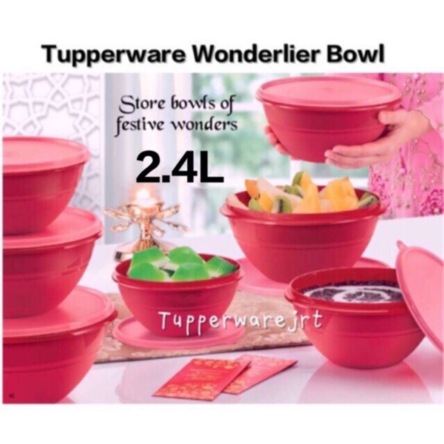 Tupperware Wonderlier Bowl 2.4L x 1pc