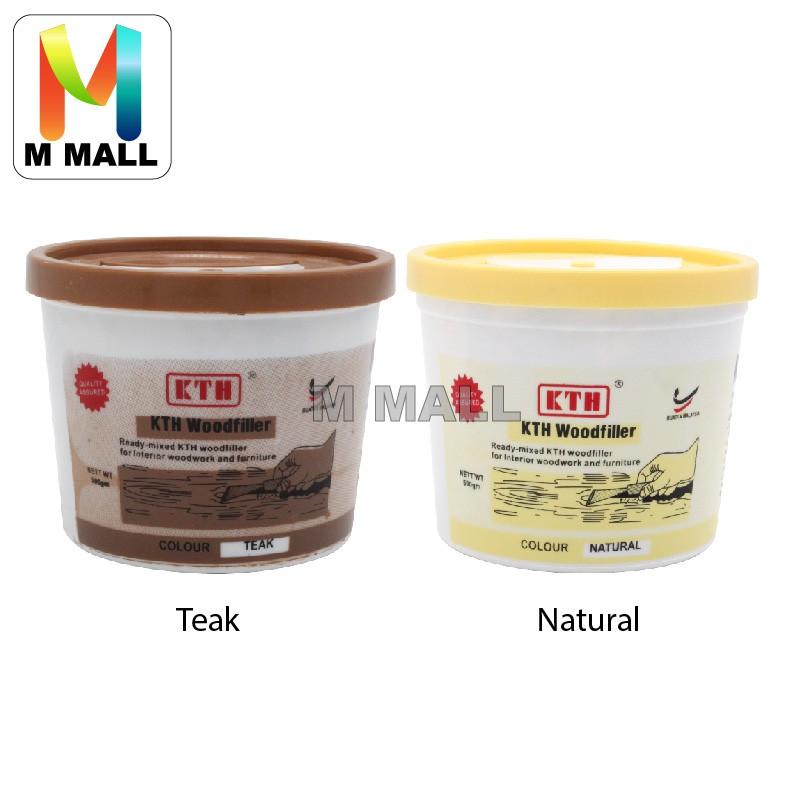 Kth Wood Filler Cracks And Holes 0 5kg Teak Or Natural