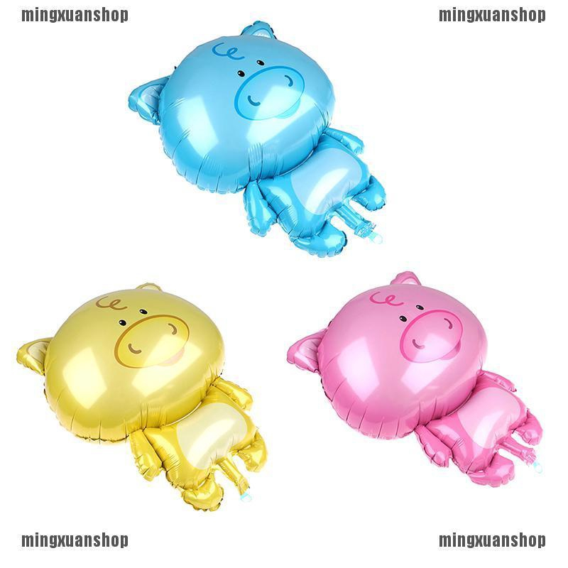 1pc Cute Pig Shaped Animals Balloons Wedding Party Balloons Pig Year Kids Gifts