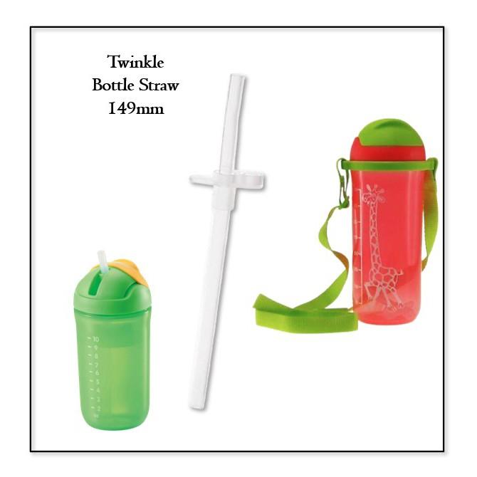 READY STOCK   Tupperware Twinkle Straw 149mm   Straw Bottle Twinkle 350ml 500ml