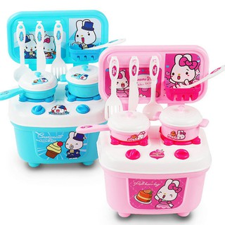 149c82a1c New Christmas Children Gift Play Kitchen Set Kids Pretend Toy Cooking Food  Toys
