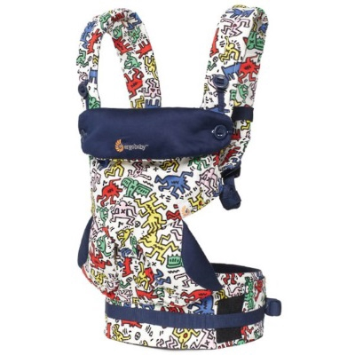 Ergo Baby: Baby Carrier - Four Position 360 - Limited Edition Keith Haring - Pop