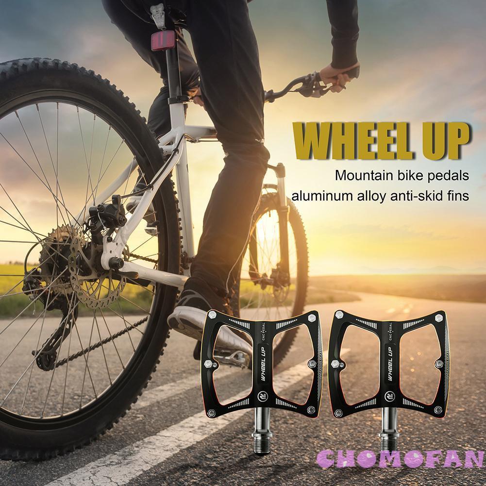 WHeel UP Mountain Road Bike Nylon Fiber Pedal Sealed Bearing Bike Pedals 3 Color