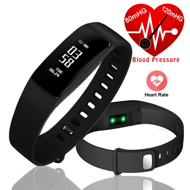 Bluetooth Watch Smart Watch Fitness Tracker Pedometer Smart Band PK mi band 2