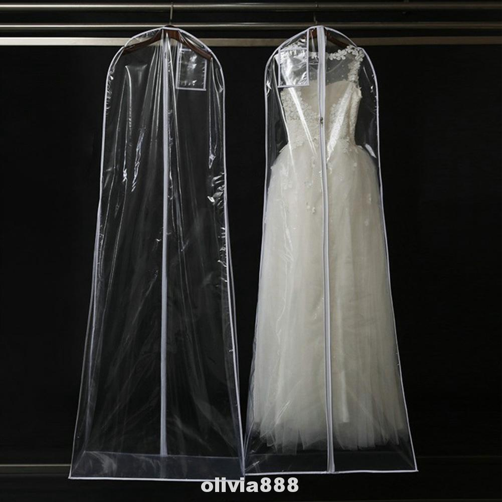 Gown Clothes Protector Case Wedding Dress Cover Dustproof Covers Storage Bag sh