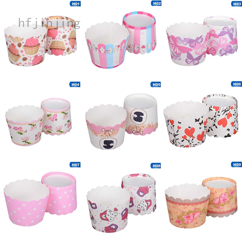 Small Qi Feng High Temperature Mould 18color Baking Cake Paper Cup Muffin Cup