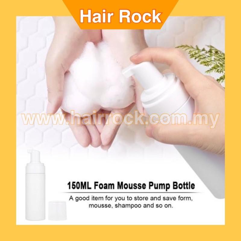Plastic Foaming Bottle Soap Mousses Liquid Dispenser Froth Pump Refillable Bottles With Cap