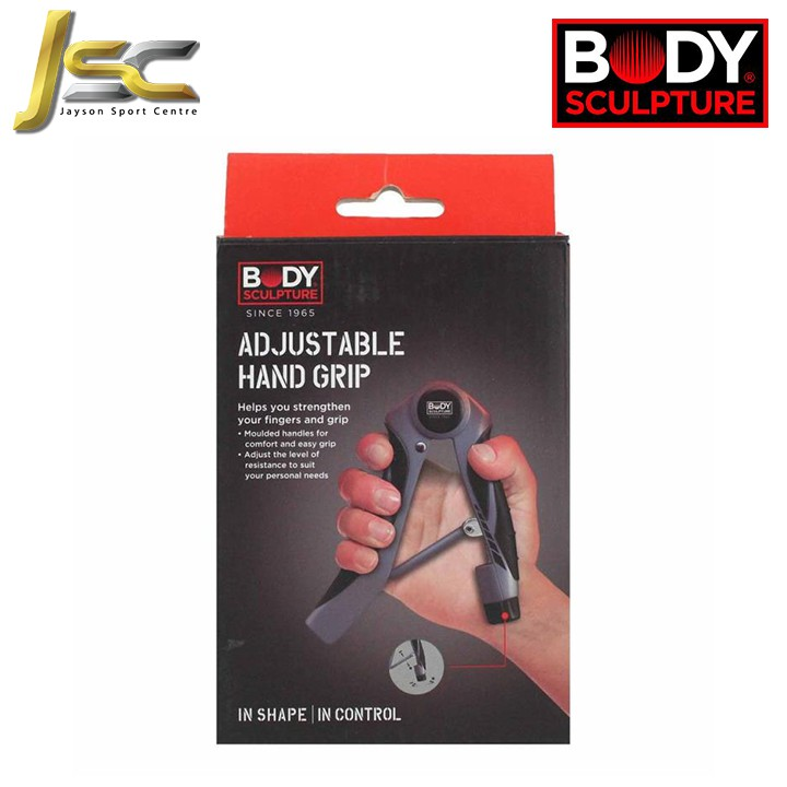 Home Fitness BODY SCULPTURE Adjustable Hand Grip - strengthen your hand muscle [ 100% Original / Branded / Cheapest ]