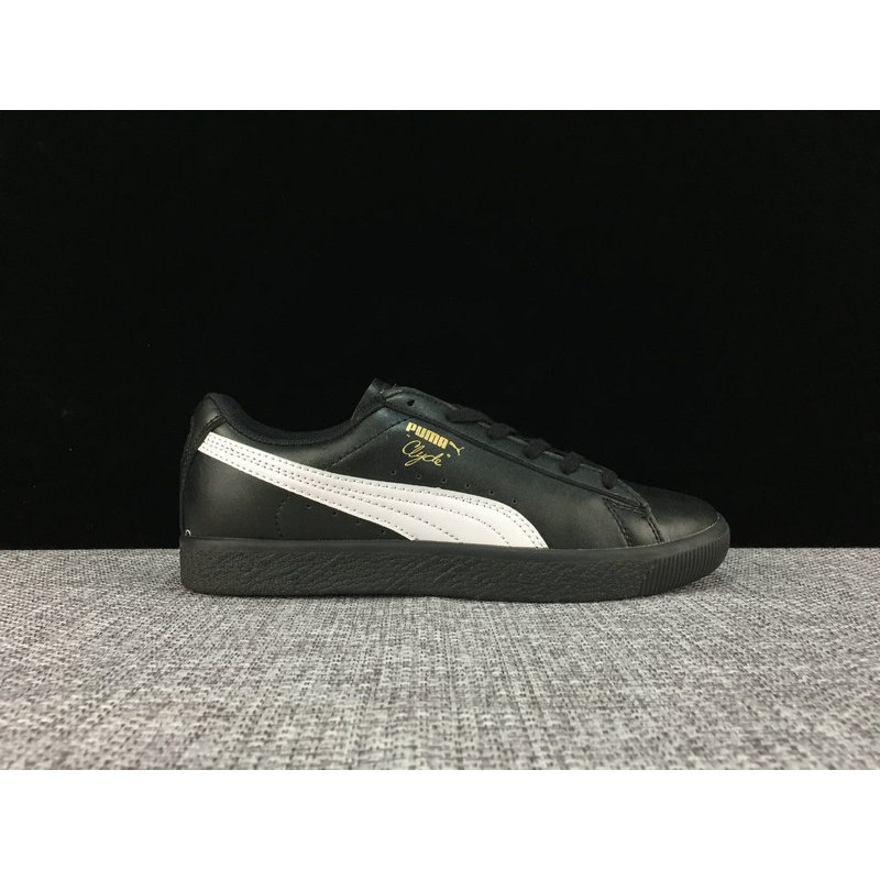 online retailer 4755d f222a Puma PUMA Clyde x Atmos T.T.T low to help cattle leather shoes 36-44 yards