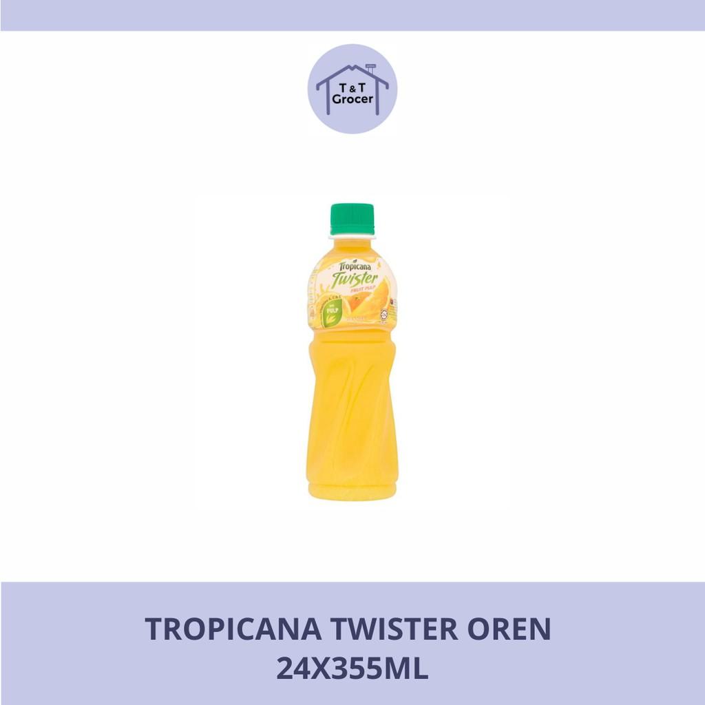 Tropicana Twister Oren (24x355ml/ 12x1L)