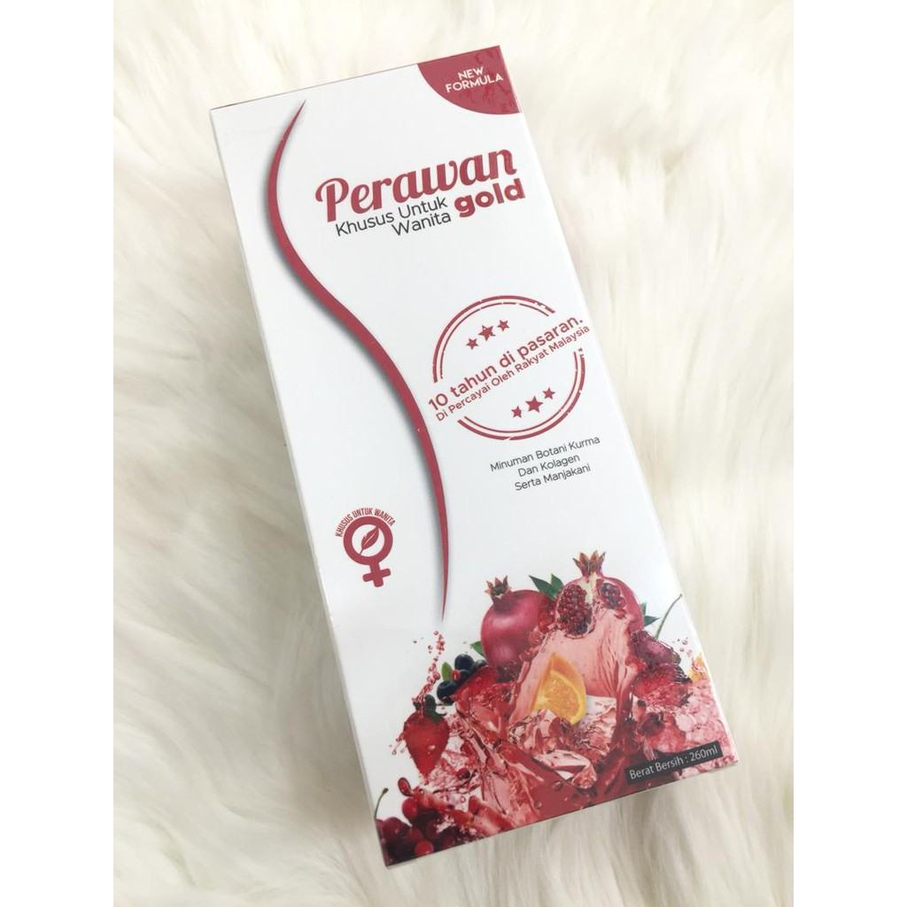 Jus Perawan Gold D Herbs 260ml Botol New Look Shopee Malaysia